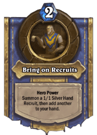 Bring on Recruits