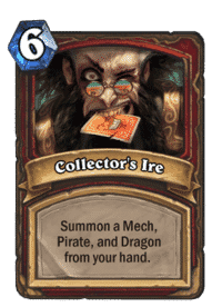 Collector's Ire