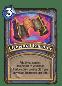Elemental Learning