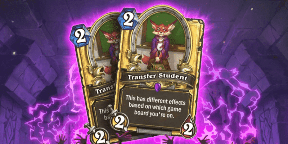 Golden Transfer Student