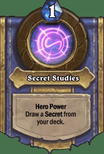 Mage - Hero Powers - Secret Studies
