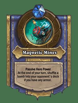 Magnetic Mines