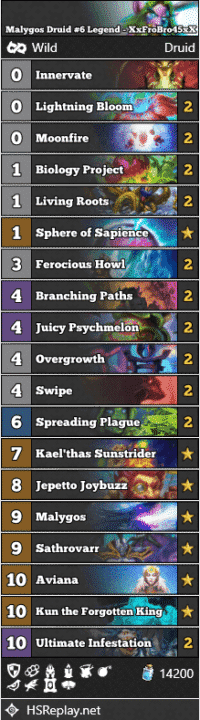Malygos Druid #6 Legend - XxFroBro45xX
