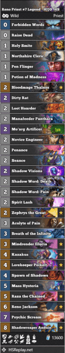 Reno Priest #7 Legend - HIJO_HS