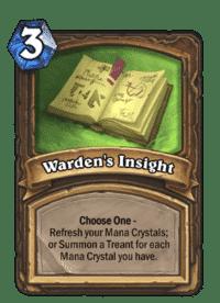 Warden's Insight