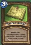 Druid - Signature Treasures - Warden's Insight