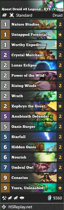 Quest Druid #8 Legend - RYE_Viper