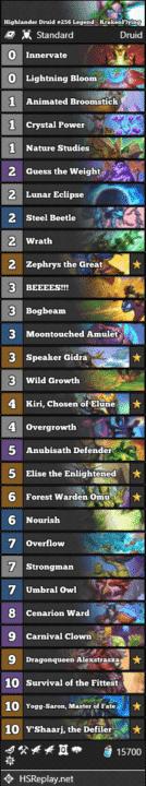 Highlander Druid #256 Legend - KrakenFlying