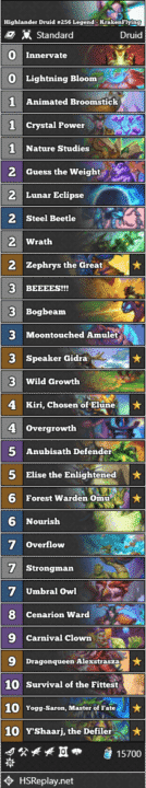Highlander Druid #256 Legend - KrakenFlying