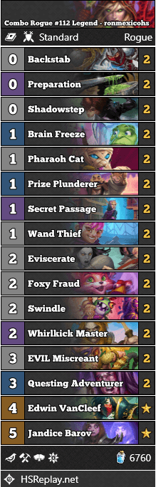 Combo Rogue #112 Legend - ronmexicohs