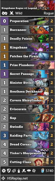 Kingsbane Rogue #2 Legend - 凌潇丶辰