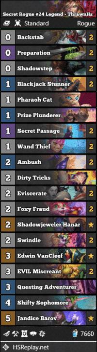 Secret Rogue #24 Legend - ThrawnHs