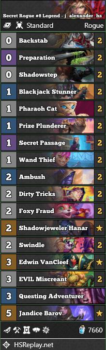 Secret Rogue #8 Legend - j_alexander_hs