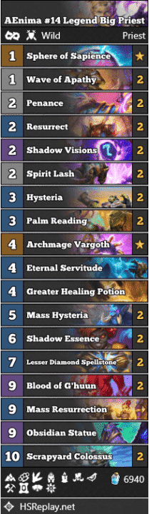 AEnima #14 Legend Big Priest