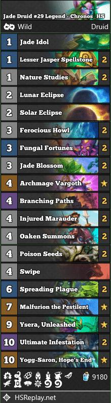 Jade Druid #29 Legend - Chronos_HS