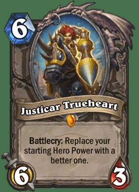 Justicar Trueheart  Hearthstone Heroes of Warcraft Wiki