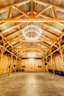 Timber Frame Horse Barn Plans