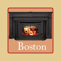 New for 2016 - Boston Wood Burning Fireplace Insert by Enviro