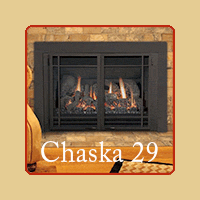 New for 2016 - Chaska 29 Gas Insert by Kozy Heat