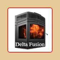 New for 2016 - Delta Fusion Wood Burning Fireplace by RSF