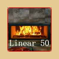 Linear 50 Fireplace by Renaissance