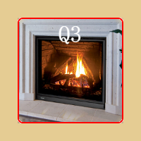 New for 2016 - Q3 Gas Fireplace by Enviro