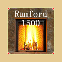 New for 2016 - Rumford 1500 Wood Burning Fireplace by Renaissance