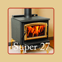 New for 2016 - Super 27 Wood Burning Stove by Pacific Energy - Brochure