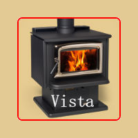 Vista Wood Burning Stove by Pacific Energy