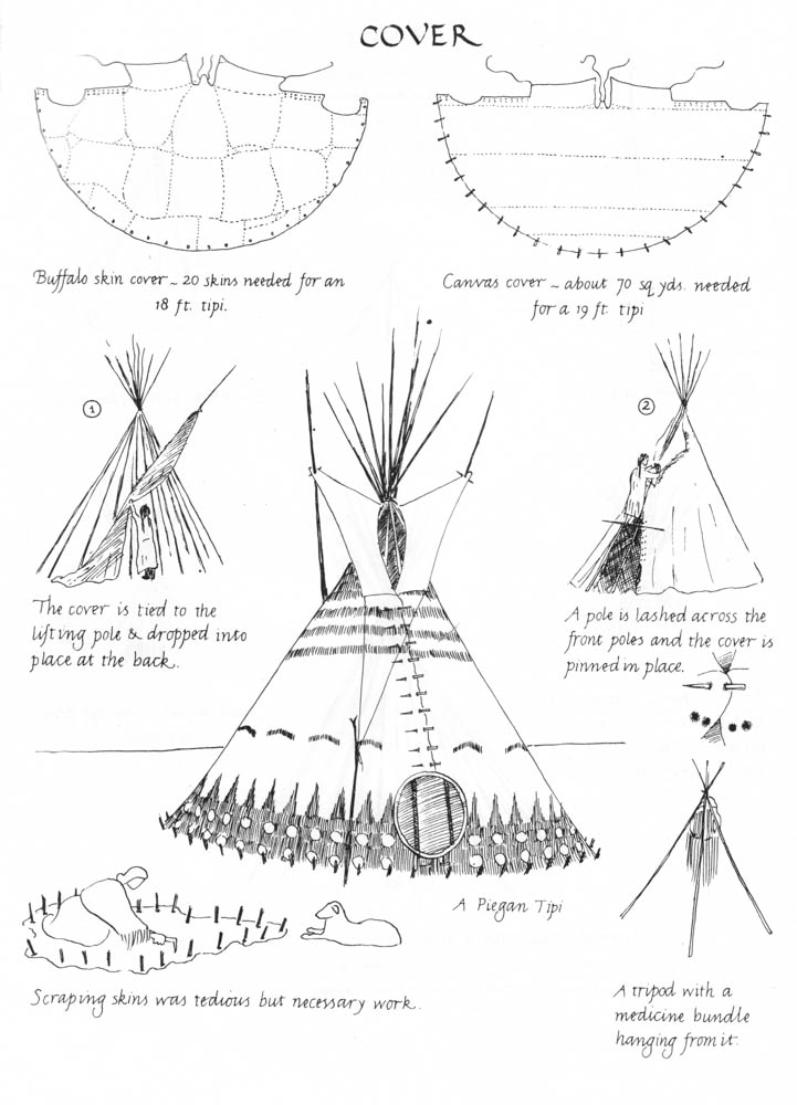 History of Traditional Tipis