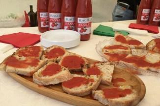 Pomodori sugo at Pratone di Roccaraso.