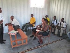 Vocational school meeting