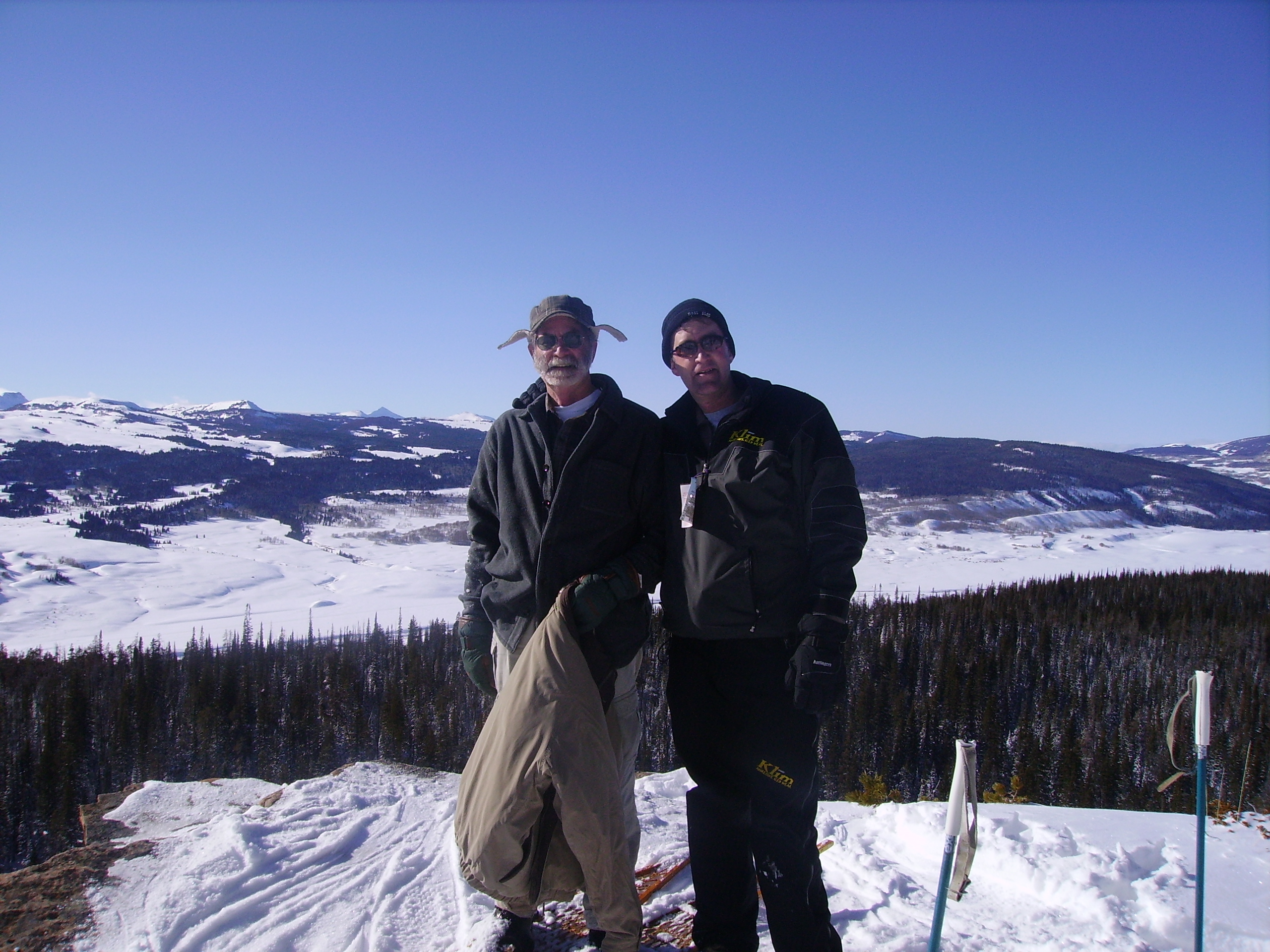 My dad and I at Red Cliff
