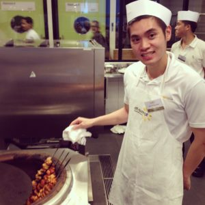 Heartland Boy's tikka chicken at Sunrice Academy
