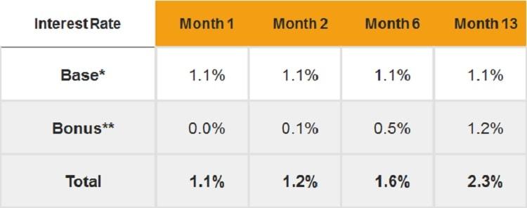 Citi MaxiGain Savings Account Interest Rate Calculator
