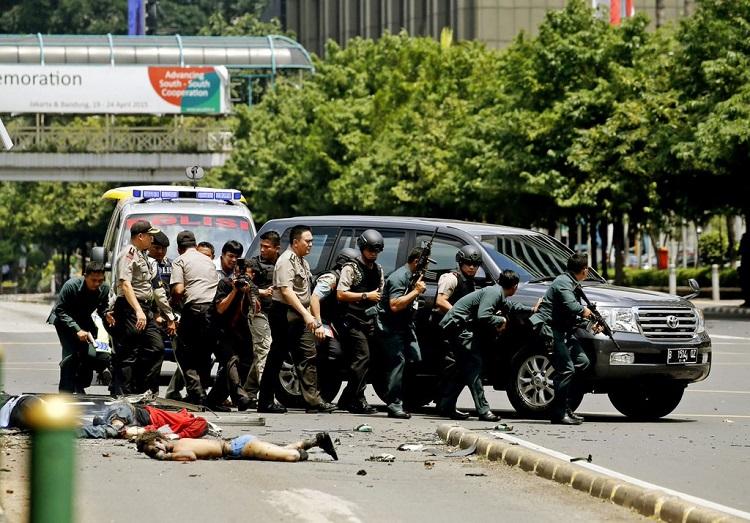 terrorist attack jakarta