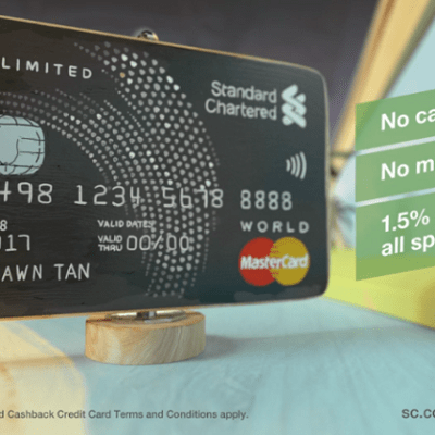 Why You Should Get The Unlimited Cashback Credit Card