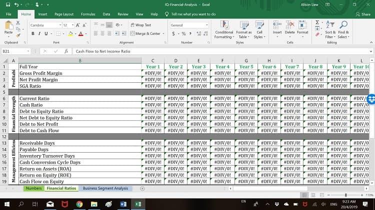 investment-quadrant-financial-analysis