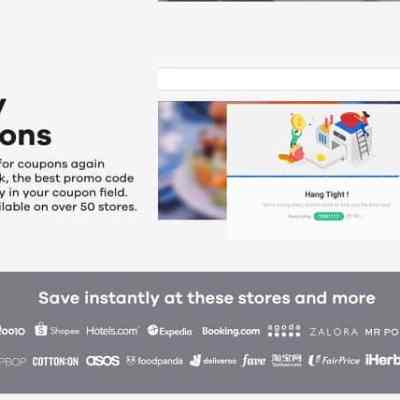 ShopBack Button Now Automatically Applies Coupon Codes