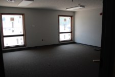South wing classroom - windows are trimmed