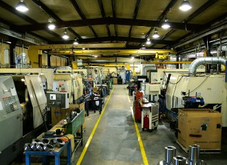 Large Diameter Machining Capabilities