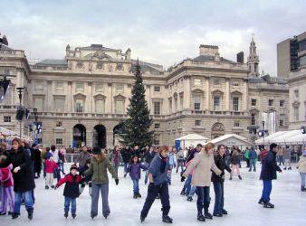 Christmas London England