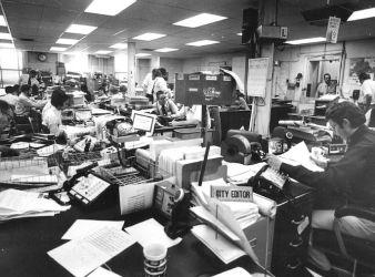 chaos newsroom