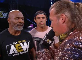 AEW Mike Tyson Chris Jericho