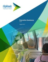 Highlands Transit Plan Executive Summary