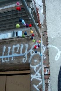 yarnbombin Leipzig