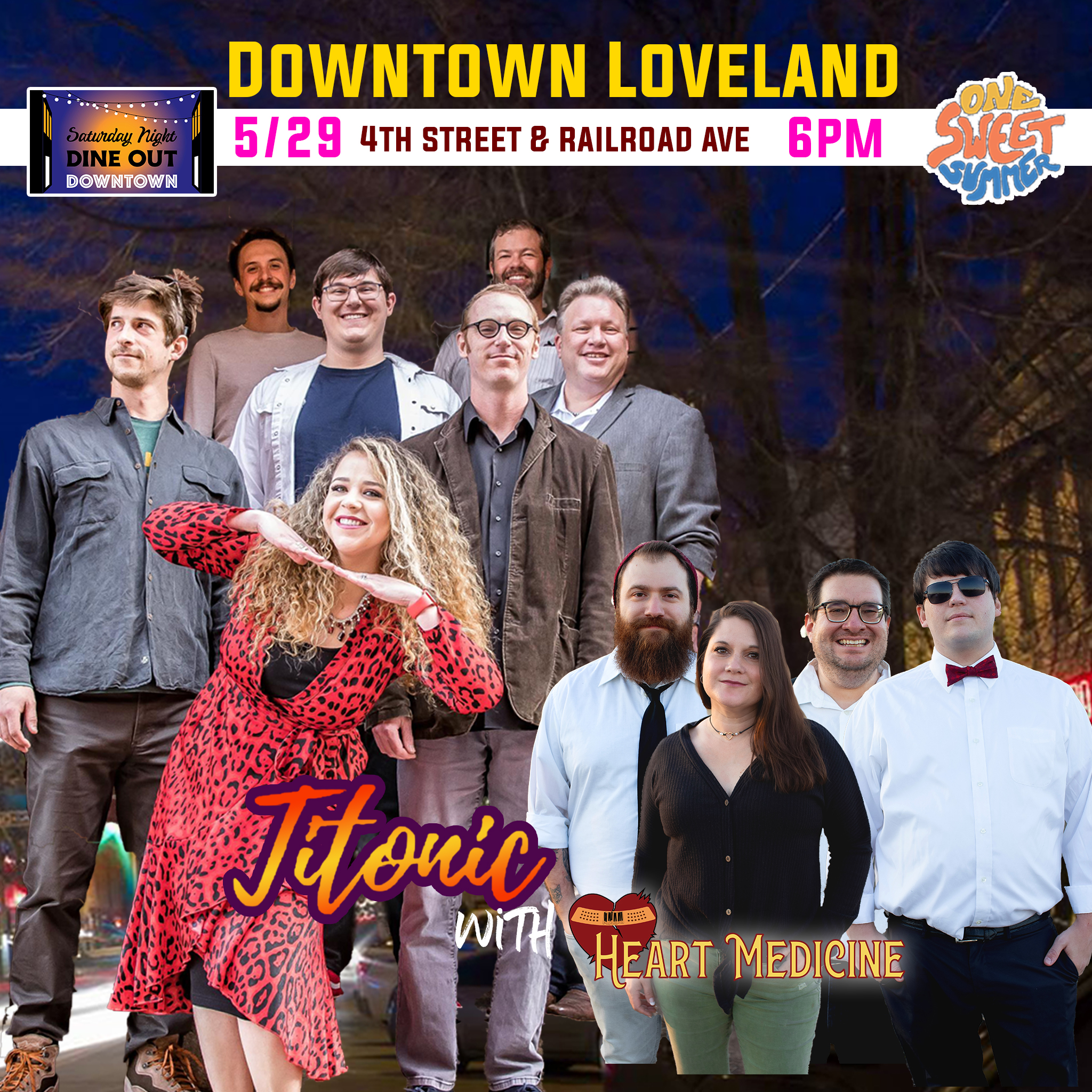 Downtown Dinner Series w/ Titonic