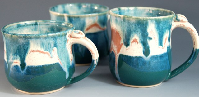 Seashell Mugs