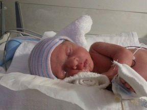 Evie Orcutt, at birth, Dec.16,2013