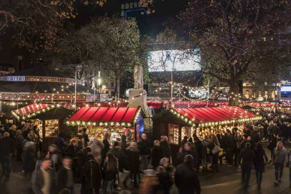 Underbelly Presents Christmas In Leicester Square - Heart Of London Business Alliance